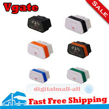 Vgate iCar2 Bluetooth ELM327 Car Code Reader OBD2 Diagnostic Tool For Android