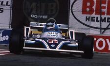 photo 20 par 30 cm jean pierre jarier ligier matra Grand Prix long beach 1981 F1