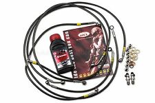 BMW S1000RR 14-15 ABS Front / Rear Brake Lines Hel Performance + Brembo Fluid