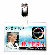 Spiderman Oscorp Industries Gwen Stacy ID Badge Marvel Cosplay Prop Comic Con