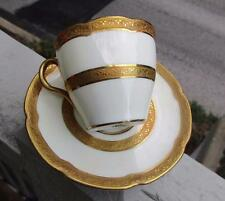 Antique Royal Doulton THE BALMORAL Demitasse Cup & Saucer