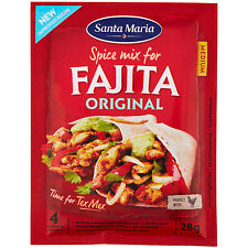 SANTA MARIA Original Seasoning Mix for FAJITA Chili, Garlic, Coriander & Oregano