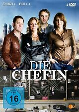 Die Chefin - 1 Staffel - Katharina Böhm - Stefan Rudolf - 2 DVD Box