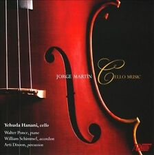 JORGE MART¡N: CELLO MUSIC (NEW CD)