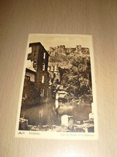 CPA Carte Postale Ancienne Florac Lac du Vivier Chateau