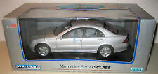 Welly 1:18 Mercedes-Benz C class silver MIB