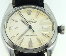 Vintage Rolex Oyster Perpetual Air King Wrist Watch Date Automatic