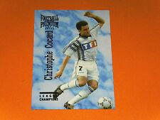 C. COCARD AJ AUXERRE AJA ABBE-DESCHAMPS FOOTBALL CARD PREMIUM PANINI 1995