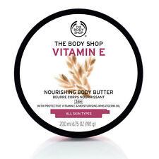 Body Shop ◈ Vitamina E ◈ super-ricco CREMA NUTRIENTE BURRO CREMA IDRATANTE ◈ 200ml