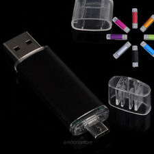 Chiavetta Pendrive 8GB USB/Micro USB Flash Drive Memory Stick Disk OTG Phone PC