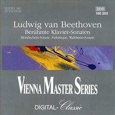 Beethoven: Berhmte Klavier Sonaten (CD, Pilz) NO SCRATCHES