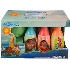 Disney Moana Bowling Set Fun Gift Licensed Authentic Inddor/Outdoor NEW
