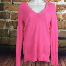 Victorias Secret Pink Sweater Long Sleeve L/S Size Large L