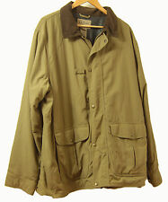 LL Bean Nylon Men's Sports XL Jacket Coat with inside pouch storage pocket