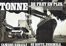 PUBLICITE ADVERTISING 0217  1984   Renault Véhicules Industriels (2p) le G260