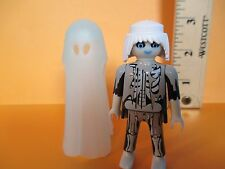 Playmobil figure ADULT GHOST in glow-in-the-dark shroud