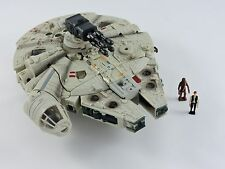 Star Wars Transformers MILLENNIUM FALCON Han Solo & Chewbacca Deluxe Crossovers