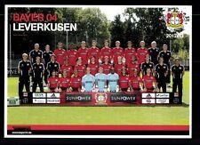 Original Mannschaftskarte Bayer Leverkusen 2012-13 TOP  +A 109444 OU