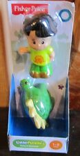 Fisher Price Little People Animal 2 Pack Koby & Dinosaur New 2014 Figure Toy