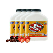4 x 180-Tab STR CHO Nutrition Replacement Walking Dead Zombie Preperation Food