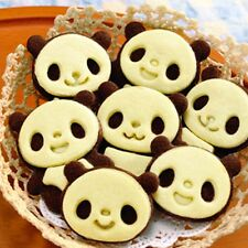 Lovely Panda Cookie Mold Cutter Stamp Cake Decorating Bakeware DIY Tools