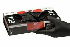 Colad Black Nitrile Gloves (Box of 60) [536000]