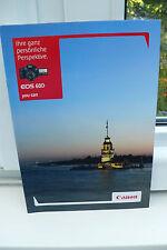 2010 Canon EOS 60d 60 d cámara folleto photoapparat catálogo Camera brochure