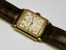 Vintage Lord Elgin Solid14kt Gold Wristwatch
