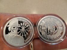 DEBT & DEATH/ DECENTRALIZED PROOF .999 PURE SILVER - *RARE* ONLY 200 MINTED
