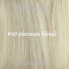 Full Head One Piece Clip In Remy Human Hair Extensions & Hair pieces Highlight