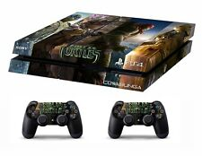 PS4 vinyl Skin Stickers ninja turtles style 3 for Console & 2 controllers