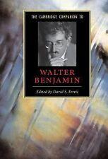 Cambridge Companions to Literature Ser.: The Cambridge Companion to Walter...
