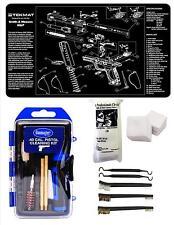 GunMaster .40 CAL Caliber S&W M&P Tekmat & 21 Pc Gun Cleaning Kit