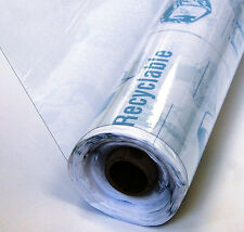 """Marine Clear Vinyl Fabric Gauge 12 - Sold By The Roll - 54"""" - 25 Yards"""
