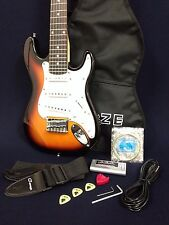 780mm Haze 1/2 Size  Electric Guitar, Sunburst w/Free gig bag + Bonus Free gifts