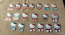 19 pcs Hello Kitty iron on patches embroidered sew on applique  NEW Fast Ship