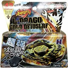 Beyblade GOLD L-Drago Destroy Destructor Armored w/ Launcher in RETAIL PACKAGING