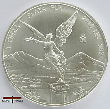 2016 mexicains Libertad unc: 1oz troy ounce fine silver bullion coin