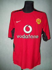 Manchester United 2002 2004 M Nike #6 Ferdinand Home Shirt jerseyTOP CONDITION