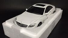 Car Model AUTOART 1:18 Mercedes-Benz CL63 AMG (White) + SMALL GIFT!!!!!!!!!