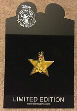 Disney Shopping Hollywood Gold Star Series Pluto with Sunglasses LE Pin NEW