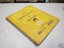 ALBUM D IMAGES VIGNETTE STYLE PANINI LES MERVEILLES DU MONDE VOLUME 1 1953-1954*
