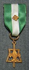 BSA Scouter's Key Award Metal Medal with Stange Hallmark & Cub Scout Device Pin