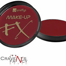 Cara Y Cuerpo De Pintura Smiffys Fx 16 pot Fancy Dress facepaint Accesorio Rojo