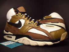 2003 Nike Air Max TRAINER SC HIGH ESCAPE 1 WHITE BLACK BROWN RED 302346-102 13