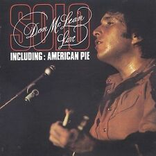 Solo by Don McLean (CD, Apr-1996, 2 Discs, Beat Goes On)