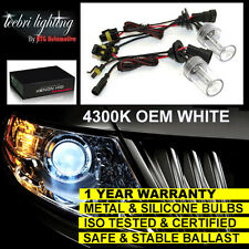 FOR SUBARU FORESTER LEGACY HEADLIGHT H1 XENON HID CONVERSION KIT 4300K WHITE