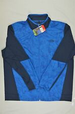 NEW MEN'S The North Face Ampere Performance Jacket Bomber Blue M $99 #76-85055