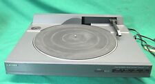 Mitsubishi LT-162 Linear Tracking Turntable No Cover or Stylus Runs, Guaranteed