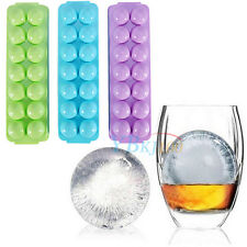 Party Brick Round Bar Whiskey Ice Ball Cube Maker Trays Sphere Mould Molds New